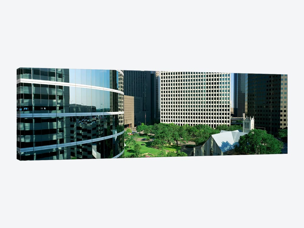 Detail Of Glass Building by Panoramic Images 1-piece Canvas Art Print