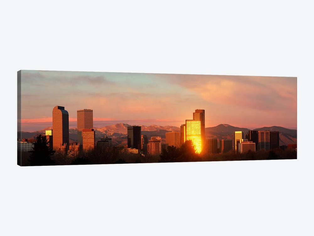 Denver skyline by Panoramic Images 1-piece Canvas Artwork