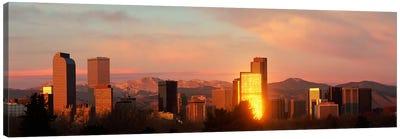 Denver skyline Canvas Art Print