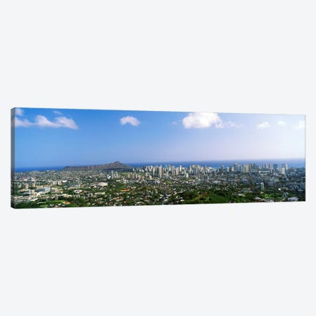 Honolulu, Hawaii Canvas Print #PIM3839} by Panoramic Images Art Print