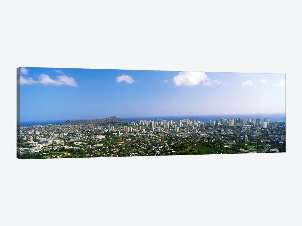 Honolulu, Hawaii by Panoramic Images 1-piece Art Print