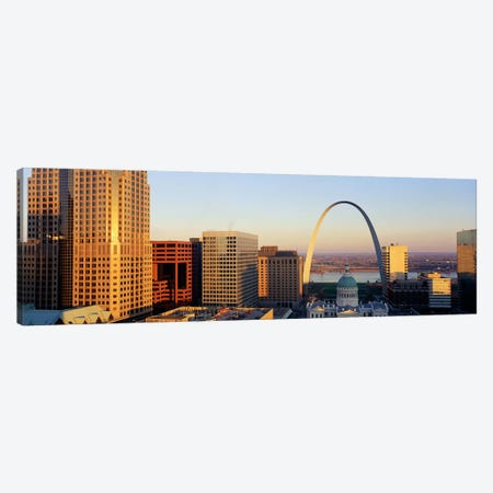 St. Louis Skyline Canvas Print #PIM3840} by Panoramic Images Canvas Art