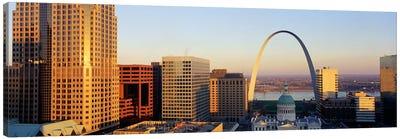 St. Louis Skyline Canvas Print #PIM3840