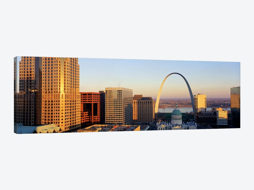St. Louis Skyline by Panoramic Images 1-piece Canvas Print