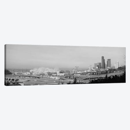 Building demolition near a highway, Seattle, Washington State, USA Canvas Print #PIM3841} by Panoramic Images Canvas Art