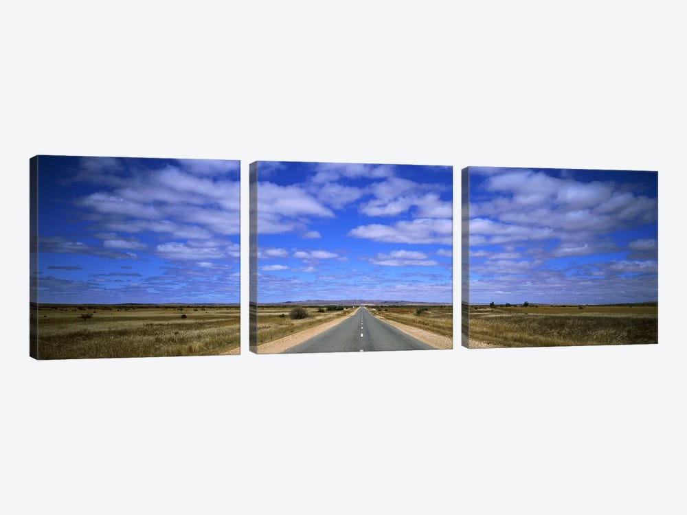 Outback Highway Australia by Panoramic Images 3-piece Canvas Art