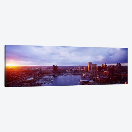 Baltimore Maryland USA Canvas Print #PIM3854} by Panoramic Images Canvas Artwork