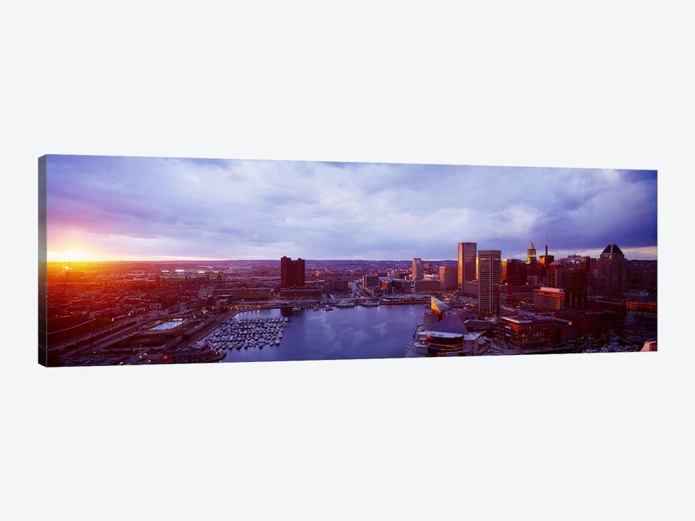 Baltimore Maryland USA by Panoramic Images 1-piece Canvas Art