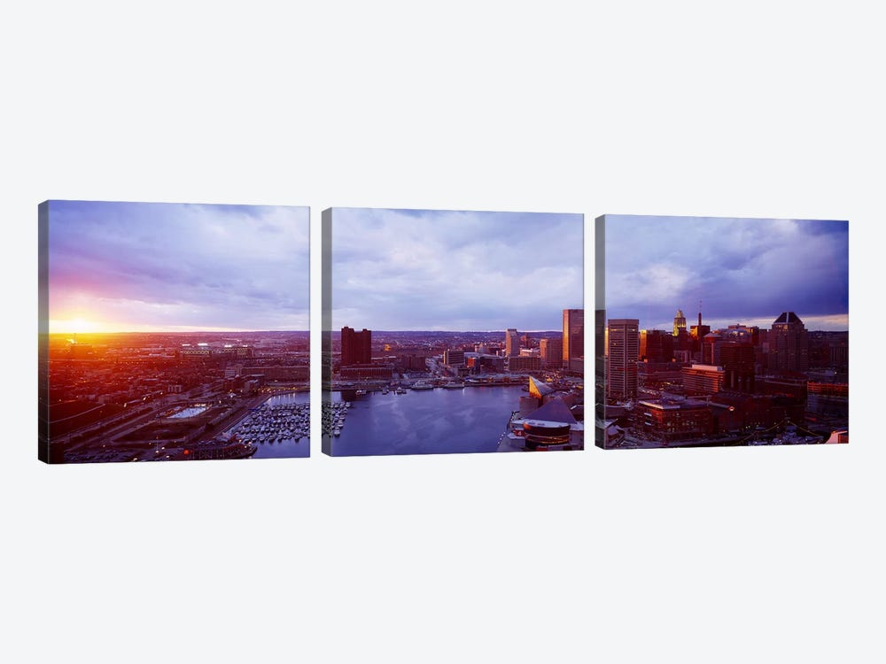 Baltimore Maryland USA by Panoramic Images 3-piece Canvas Artwork