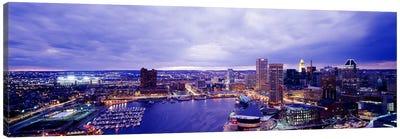 USA, Maryland, Baltimore, cityscape Canvas Art Print