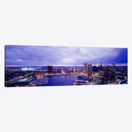 USA, Maryland, Baltimore, cityscape Canvas Print #PIM3855} by Panoramic Images Canvas Wall Art