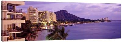 Waikiki Beach, Oahu, Hawaii, USA #2 Canvas Print #PIM3859