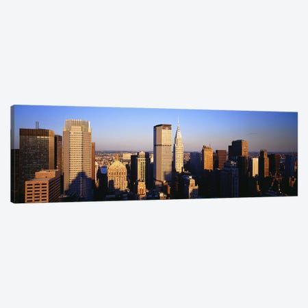 Afternoon Midtown Manhattan New York NY Canvas Print #PIM3862} by Panoramic Images Canvas Artwork