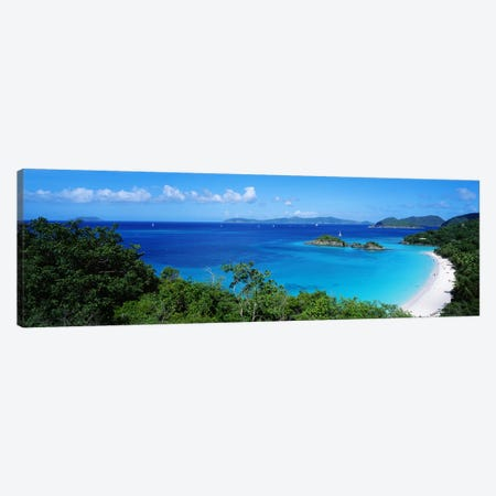 Trunk Bay Virgin Islands National Park St. John US Virgin Islands Canvas Print #PIM3868} by Panoramic Images Canvas Art