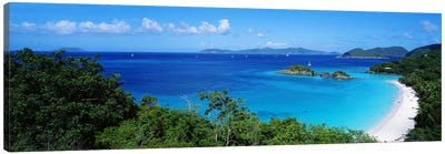 Trunk Bay Virgin Islands National Park St. John US Virgin Islands Canvas Print #PIM3868