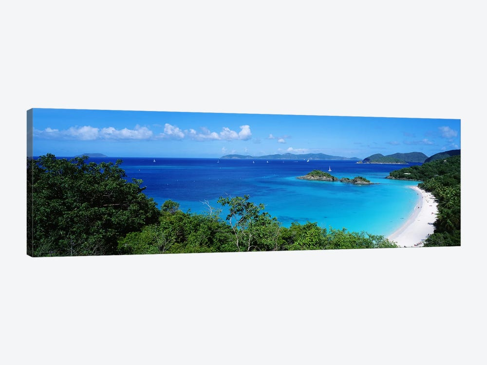 Trunk Bay Virgin Islands National Park St. John US Virgin Islands by Panoramic Images 1-piece Art Print