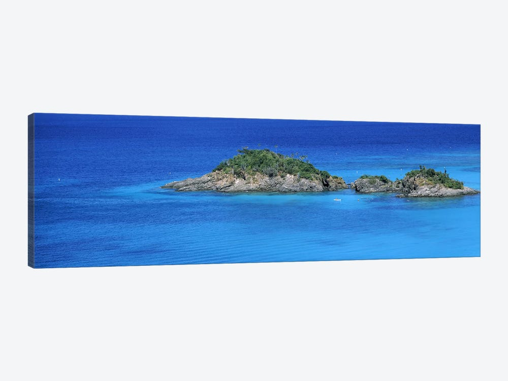 Trunk Bay Virgin Islands National Park St. John US Virgin Islands by Panoramic Images 1-piece Canvas Wall Art