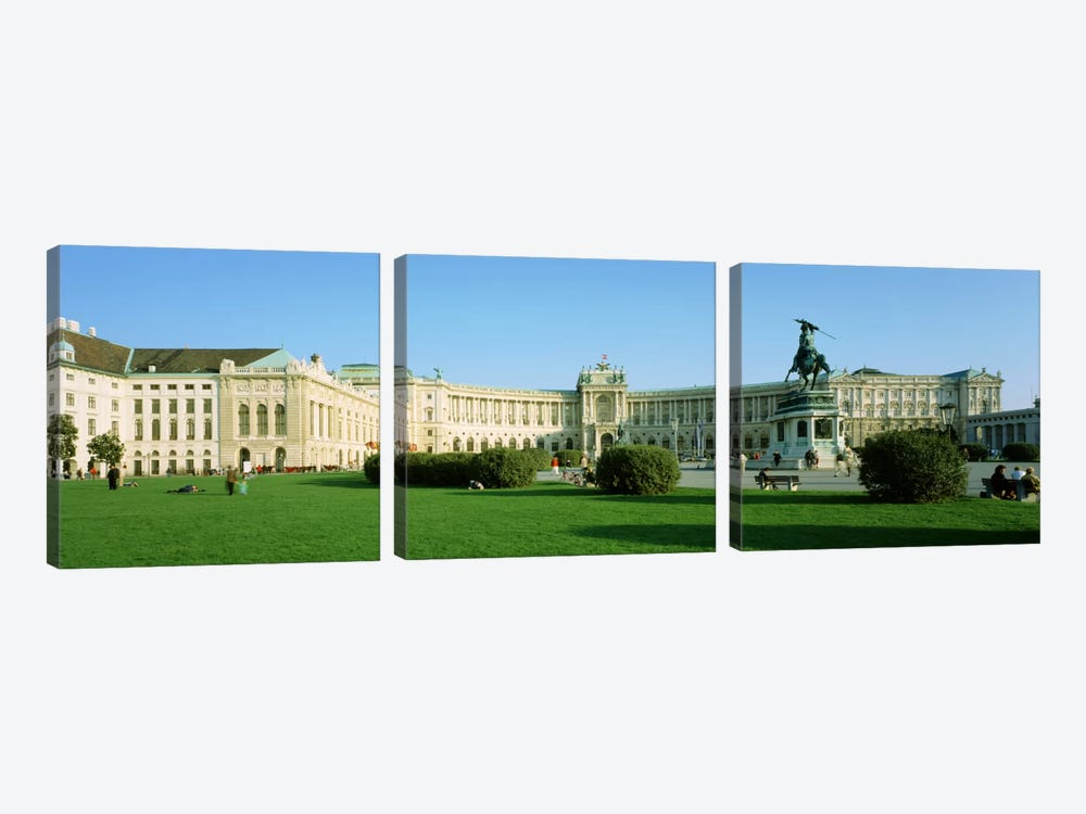 Hofburg Vienna Austria by Panoramic Images 3-piece Canvas Wall Art