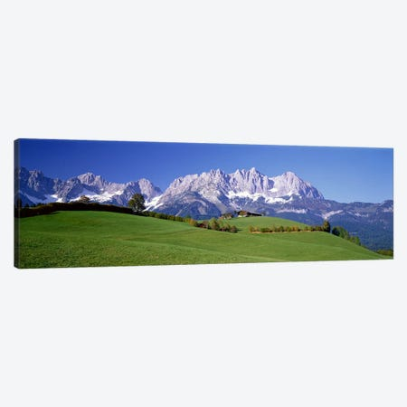Ellmau Wilder Kaiser Tyrol Austria Canvas Print #PIM3877} by Panoramic Images Canvas Art