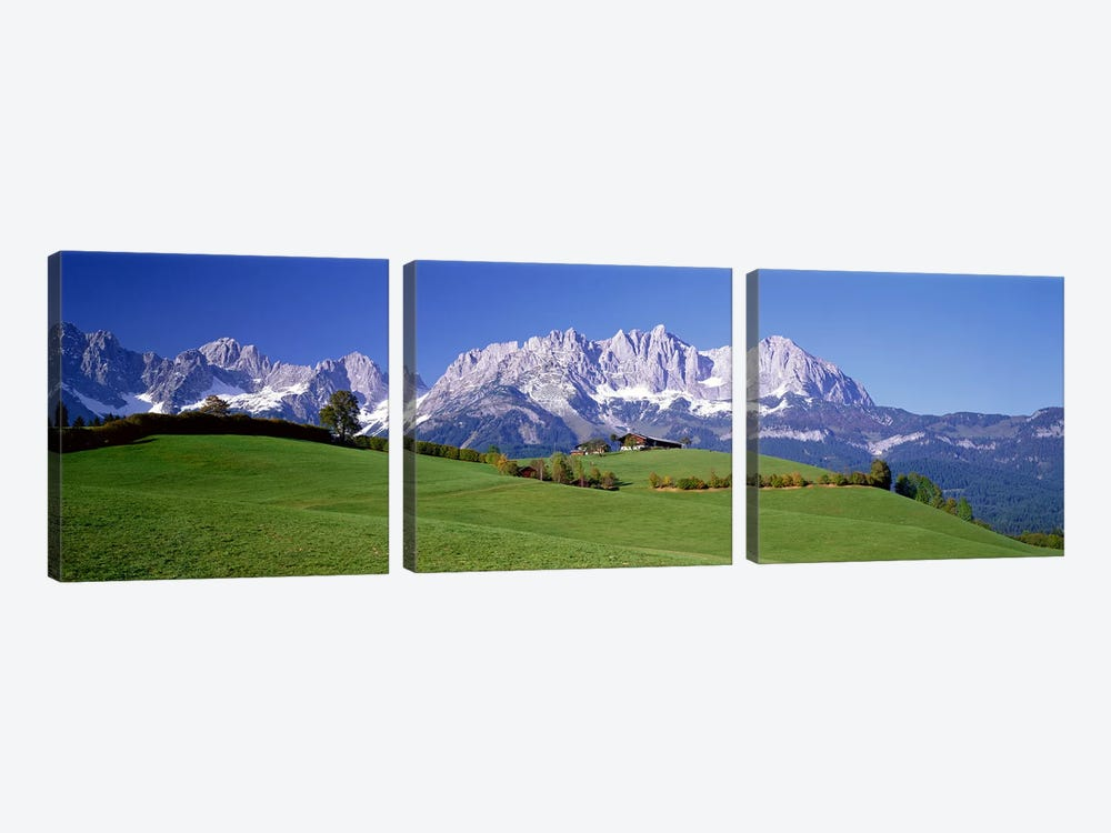 Ellmau Wilder Kaiser Tyrol Austria by Panoramic Images 3-piece Art Print