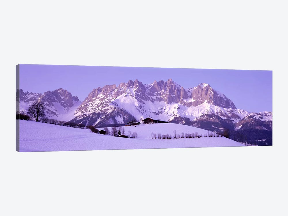 Wilder Kaiser Austrian Alps 1-piece Canvas Wall Art