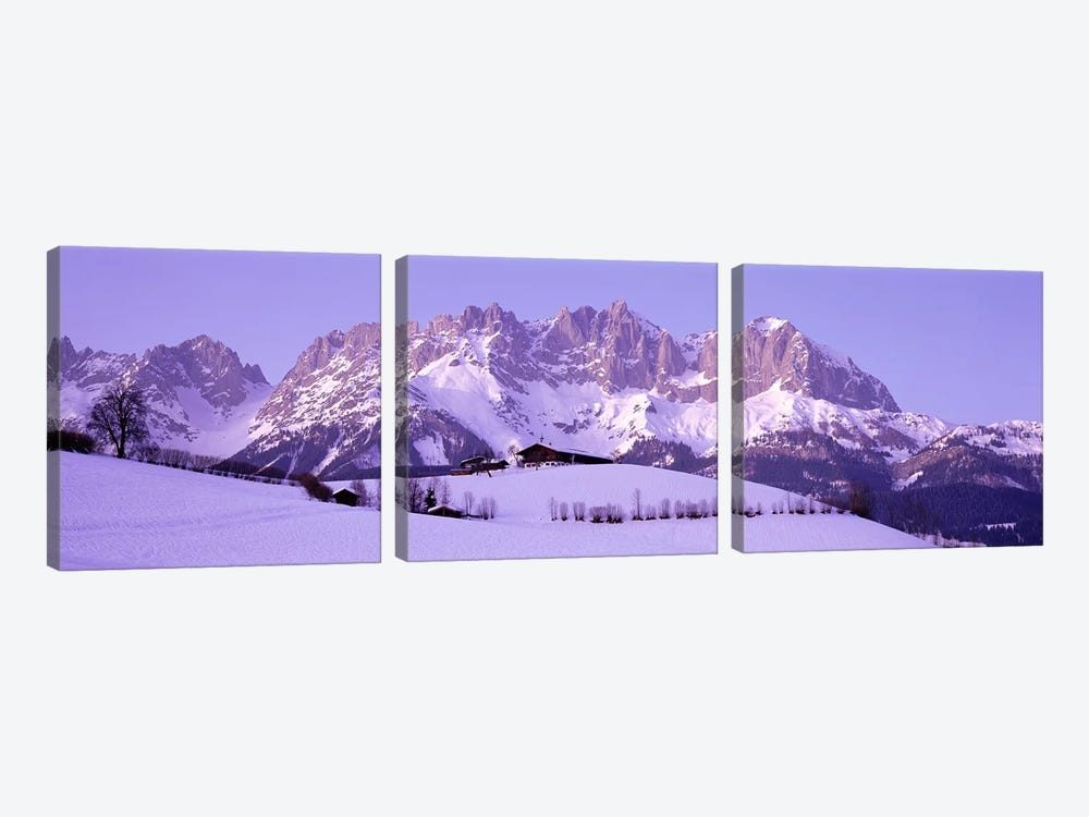Wilder Kaiser Austrian Alps 3-piece Canvas Art