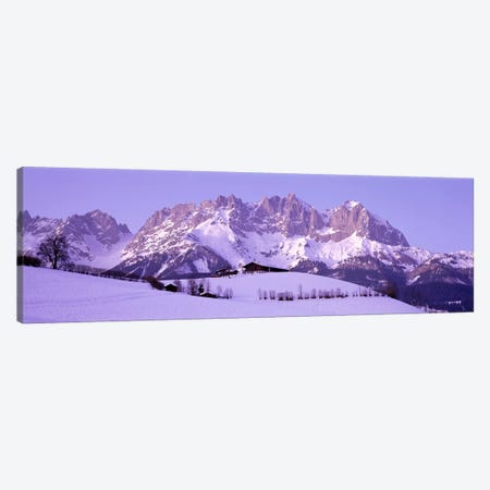Wilder Kaiser Austrian Alps Canvas Print #PIM3878} by Panoramic Images Canvas Art Print