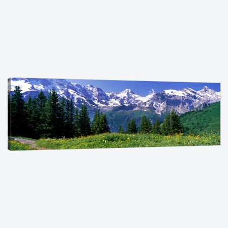 Murren Switzerland Canvas Print #PIM3879} by Panoramic Images Art Print