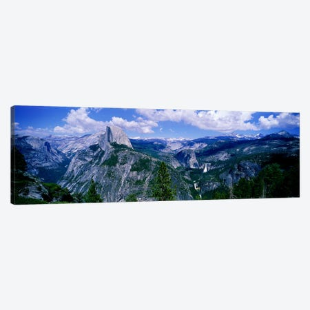 Half Dome, Yosemite Valley, Yosemite National Park, California, USA Canvas Print #PIM3880} by Panoramic Images Canvas Art