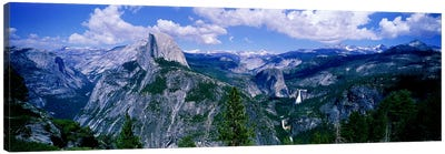 Half Dome, Yosemite Valley, Yosemite National Park, California, USA Canvas Art Print