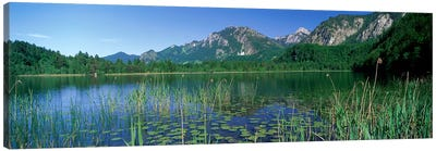 Alpsee Bavaria Germany Canvas Print #PIM3883