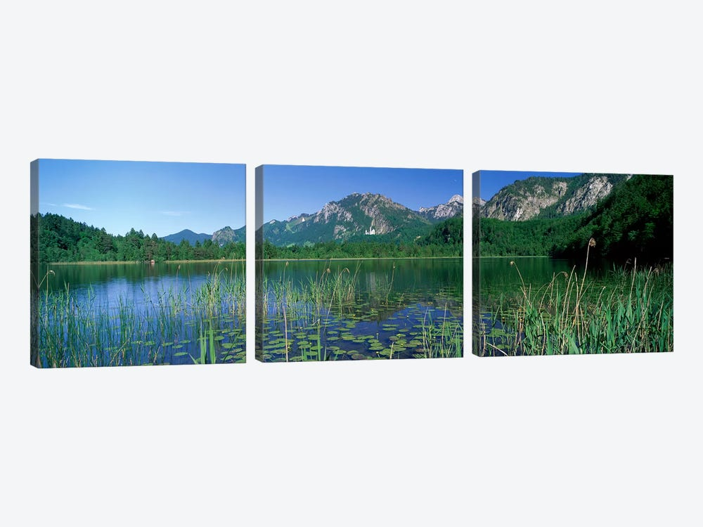 Alpsee Bavaria Germany by Panoramic Images 3-piece Canvas Art