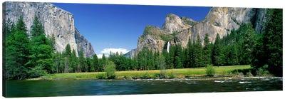 Bridalveil Fall, Yosemite Valley, Yosemite National Park, California, USA Canvas Print #PIM3885