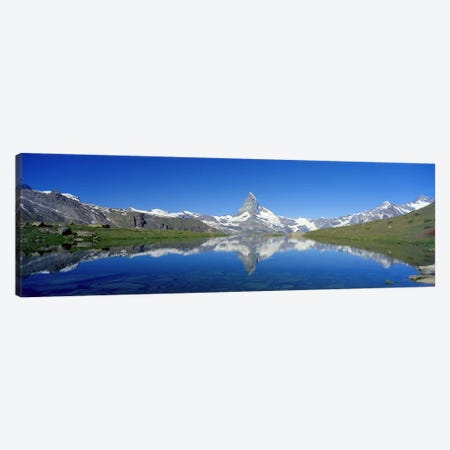 Matterhorn Zermatt Switzerland Canvas Print #PIM3886} by Panoramic Images Art Print