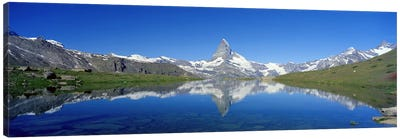 Matterhorn Zermatt Switzerland Canvas Print #PIM3886