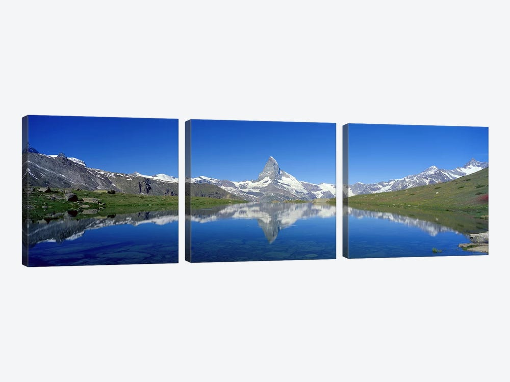 Matterhorn Zermatt Switzerland by Panoramic Images 3-piece Canvas Art Print