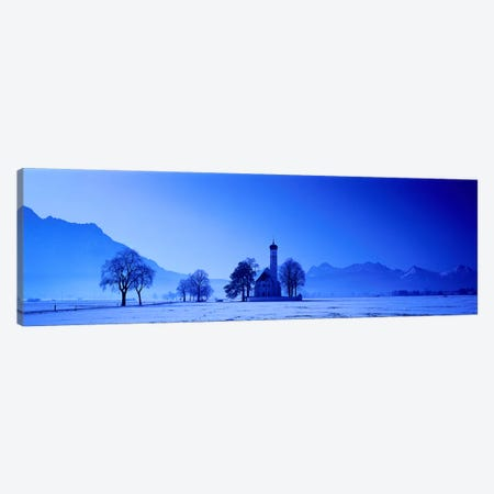 St. Coloman Church Schwangau Germany Canvas Print #PIM3897} by Panoramic Images Canvas Artwork