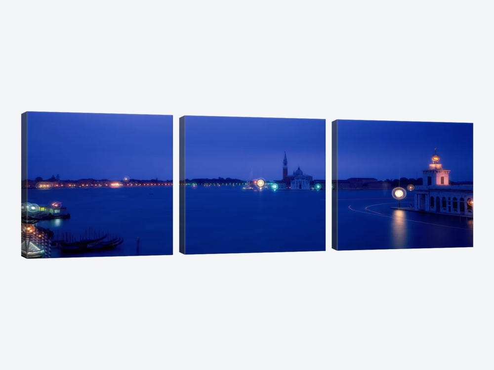 Church of San Giorgio Maggiore Venice Italy by Panoramic Images 3-piece Art Print