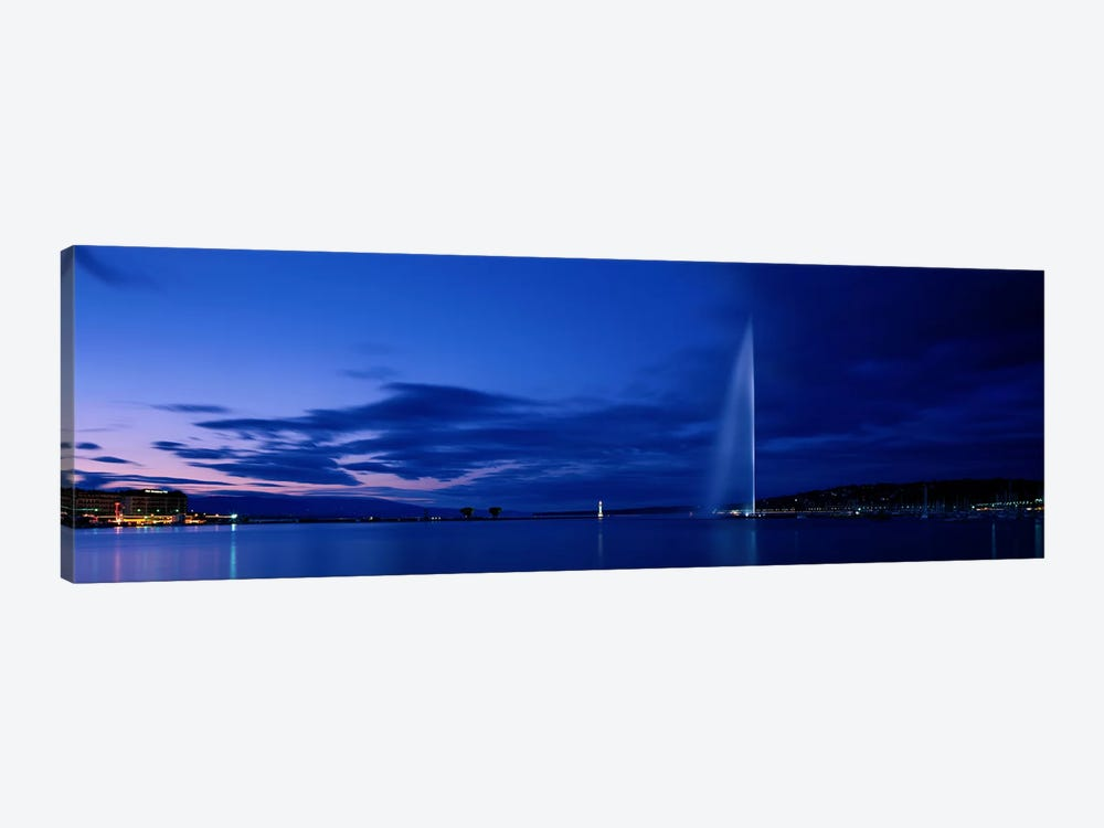 Geneva Switzerland by Panoramic Images 1-piece Canvas Art Print