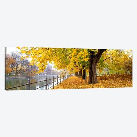 Autumn Scene Munich Germany 3-Piece Canvas #PIM3903} by Panoramic Images Art Print