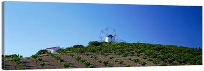Windmill Obidos Portugal Canvas Print #PIM3905