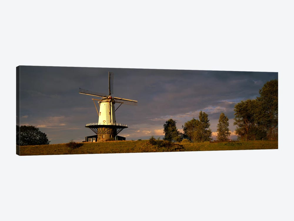 Windmill Veere Nordbeveland The Netherlands 1-piece Canvas Wall Art