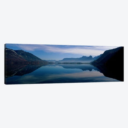 St. Wolfgangsee and Alps Salzkammergut Austria Canvas Print #PIM3909} by Panoramic Images Canvas Print