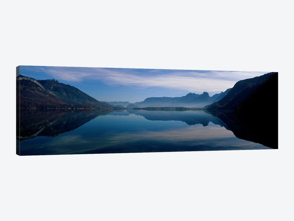 St. Wolfgangsee and Alps Salzkammergut Austria by Panoramic Images 1-piece Art Print