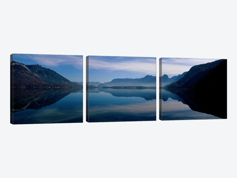 St. Wolfgangsee and Alps Salzkammergut Austria by Panoramic Images 3-piece Canvas Art Print