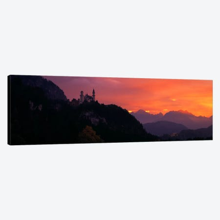 Neuschwanstein Palace Bavaria Germany Canvas Print #PIM390} by Panoramic Images Canvas Art