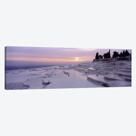 Pamukkale Turkey Canvas Print #PIM3913} by Panoramic Images Canvas Wall Art