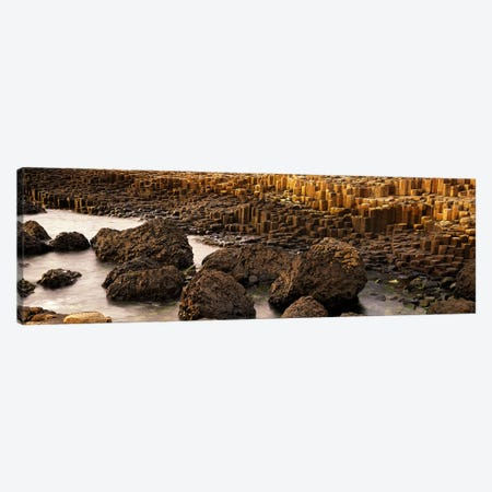 Giant's Causeway, Antrim Coast, Northern Ireland Canvas Print #PIM3914} by Panoramic Images Art Print