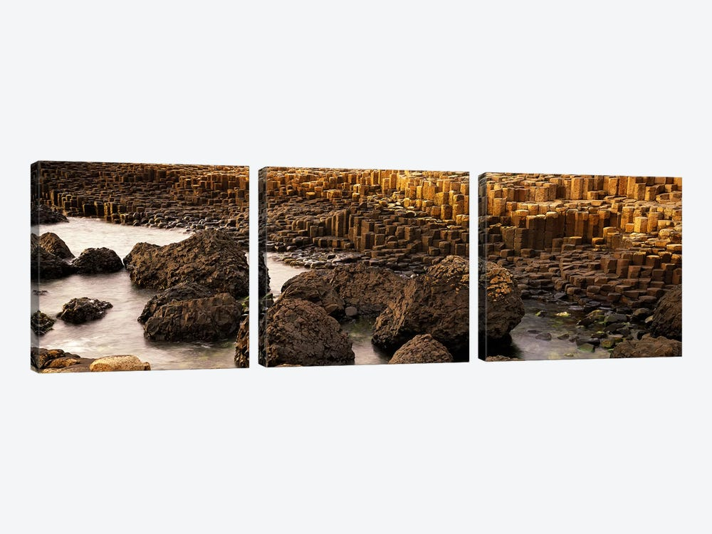 Giant's Causeway, Antrim Coast, Northern Ireland by Panoramic Images 3-piece Art Print