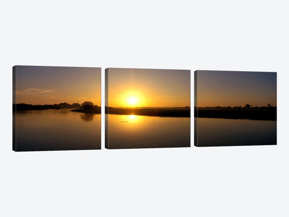 Sunrise Kakadu National Park Northern Territory Australia by Panoramic Images 3-piece Canvas Art Print